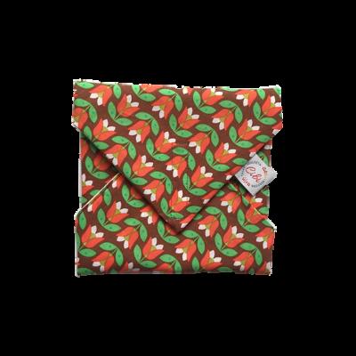 Zero waste újraszalvéta - Tulipános