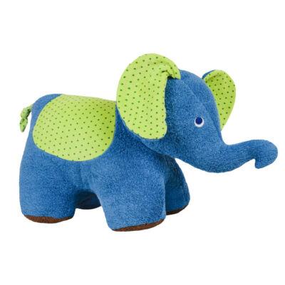 Pihe-puha kék bébi elefánt