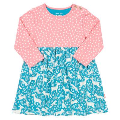 Csinos bájos kislány ruha - a legfinomabb biopamutból
