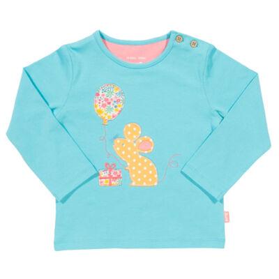 Tündéri kisegeres kislány póló - bársonyosan puha biopamutból