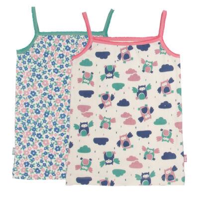 Pihe-puha biopamut trikó szett kislányoknak 2db