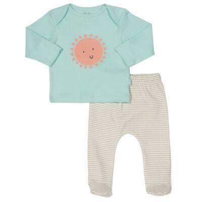 Pihe-puha organikus pamut nadrág póló szett