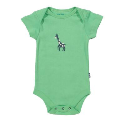 Bársonyosan puha biopamut baba body zsiráffal