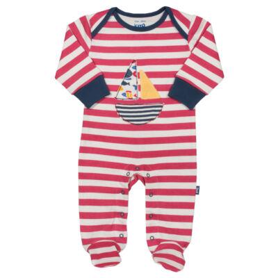 Kényelmes baba rugi vitorlással