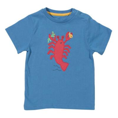 Vagány kissrác póló homár mintával