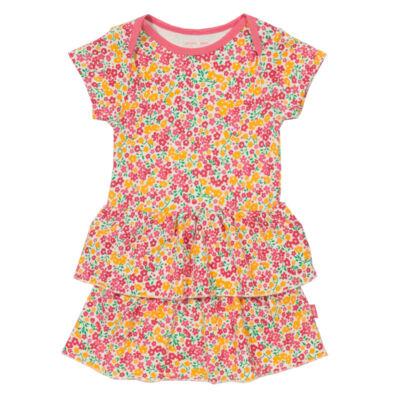 Virágmintás pihe-puha body-ruha