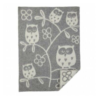 Bársonyosan puha 100% gyapjú takaró babáknak 65*90 cm