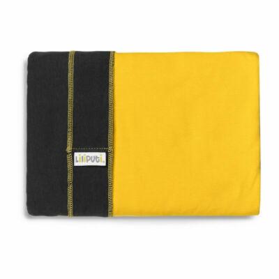 Liliputi® Wrap Rugalmas hordozókendő Graphit-Sunshine