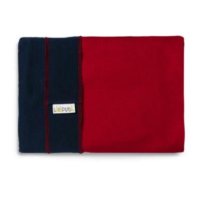 Liliputi® Wrap Rugalmas hordozókendő Navy-Red