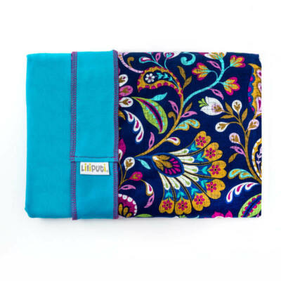 Liliputi® Wrap Rugalmas hordozókendő Peacock Bloom LIMITÁLT