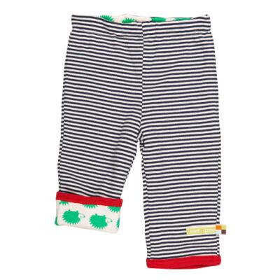 Pihe-puha, sötétkék kifordítható gyerek nadrág sünivel