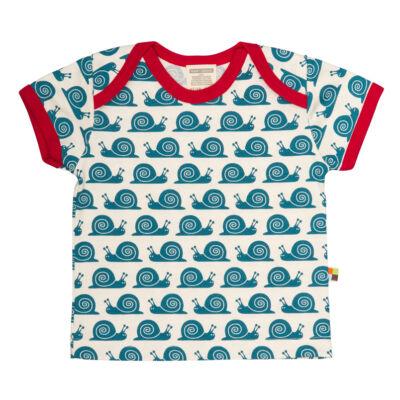Biopamut, designer gyerek póló - rövidujjú - Ink