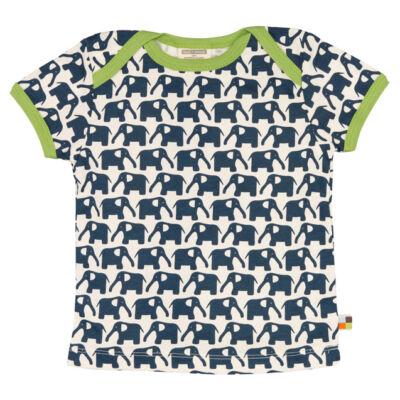 Biopamut, designer gyerek póló - rövidujjú - Marine
