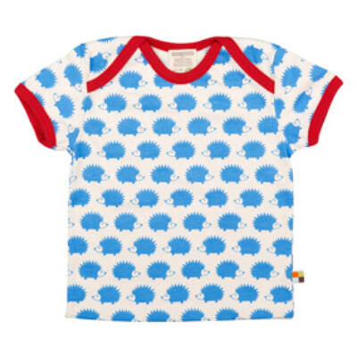 Biopamut, designer gyerek póló - rövidujjú - Sky