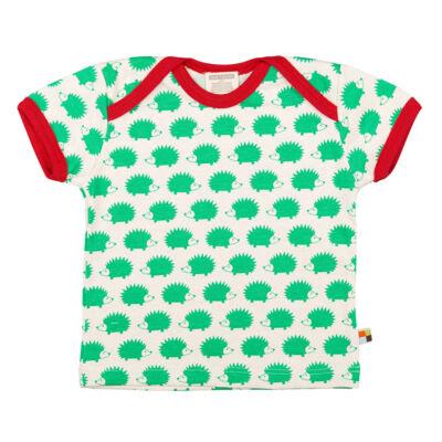 Biopamut, designer gyerek póló - rövidujjú - Verde