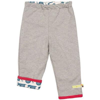 Biopamut, designer kifordítható gyerek nadrág - Grey