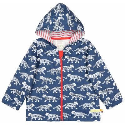 Vízlepergetős vékony gyerek kabát kapucnival - LIMITÁLT MODELL -Ultramarine