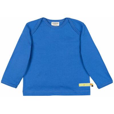 Egyszínű biopamut gyerek póló - hosszú ujjú