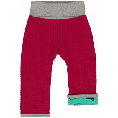 Designer, kifordítható, meleg gyerek nadrág organikus pamutból