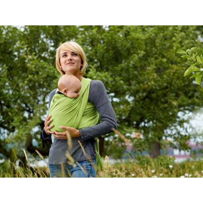 Manduca rugalmas babahordozó kendő - GOTS minősített biopamutból