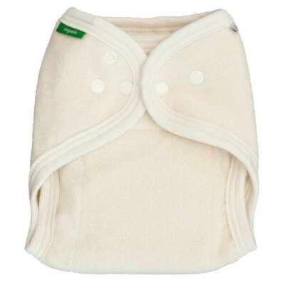 Egyméretes mosható pelenka 100% organikus pamut belső - PoPoLiNi