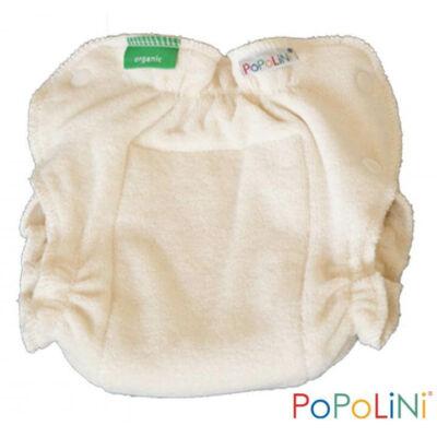 Mosható pelenka belső többméretes - 100% organikus pamut  - ekrü - PoPoLiNi