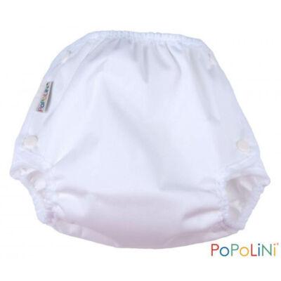 Mosható pelenka külső (patentos) Fehér - M (5-10kg) - PoPoLiNi Vento