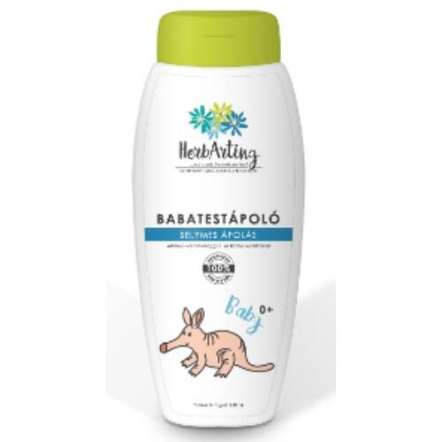 HerbArting bio baba körömvirágos testápoló 250ml