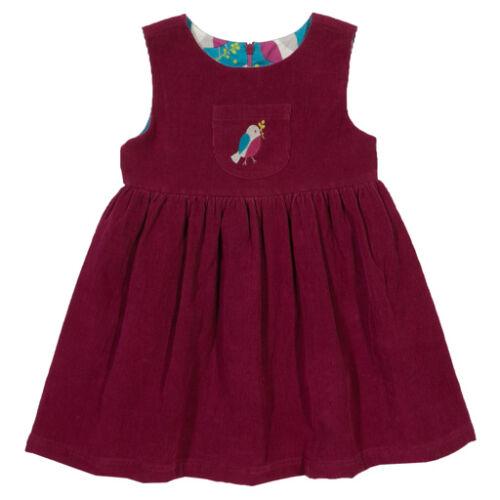 Kifordítható finom puha kordbársony kislány ruha
