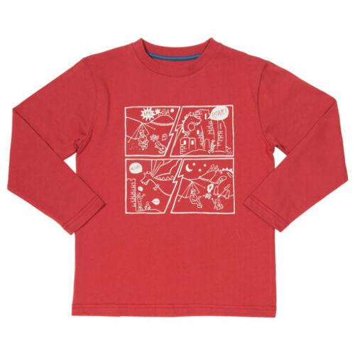 Képregényes tiszta pamut gyerek póló