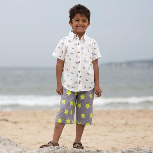 NaturAnyu Babaruha-Gyerekruha Mókás kisfiú pamut ing