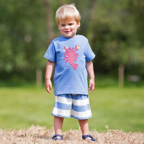 NaturAnyu Babaruha-Gyerekruha Vagány kissrác póló homár mintával