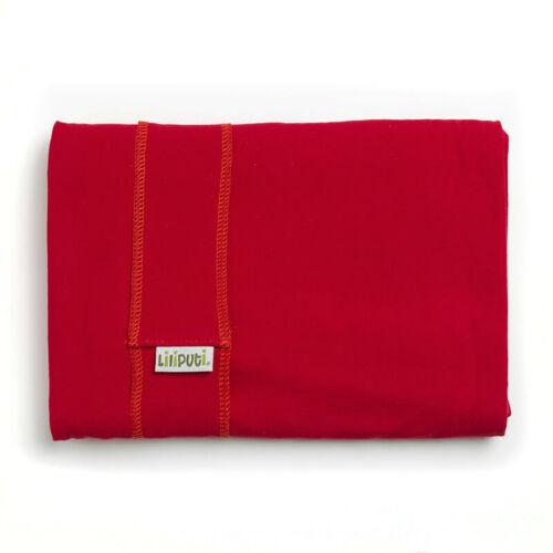 Liliputi® Wrap Rugalmas hordozókendő Red Carmin