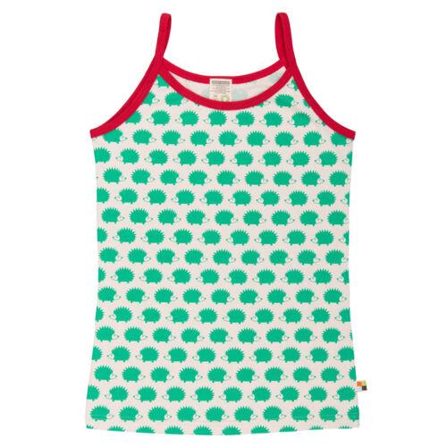 Zöld süni mintás biopamut női trikó