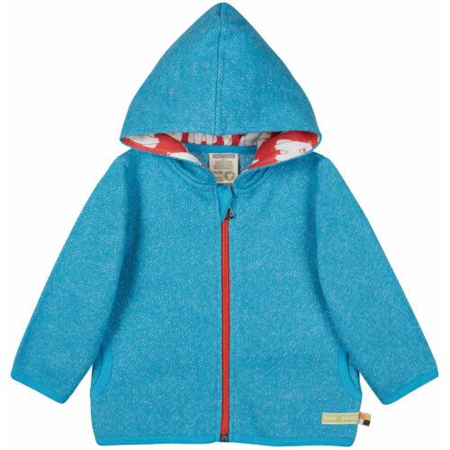 Designer, prémium minőségű, átmeneti, biopamut gyerek kabát kapucnival