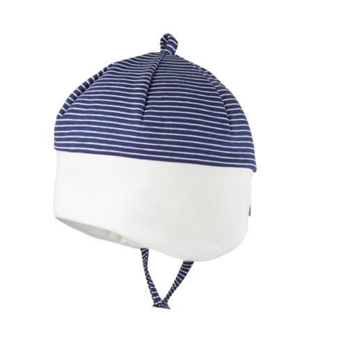 UV védett pihe-puha baba sapka GOTS minősítéssel
