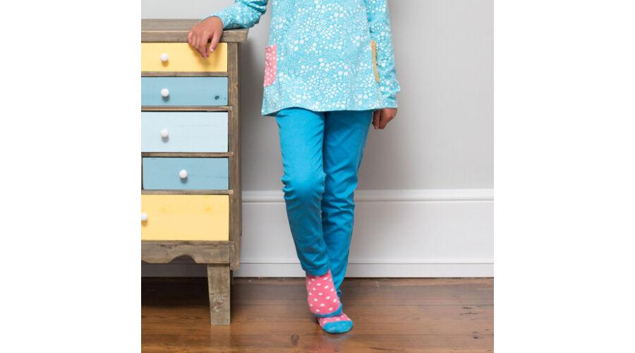dad5c48ac6 Divatos slim fit kislány farmer nadrág - a legszebb kék színben