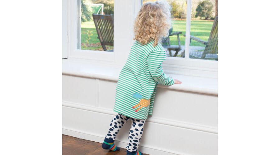 Szépséges unikornisos csecsemő ruha - organikus pamutból b834925262