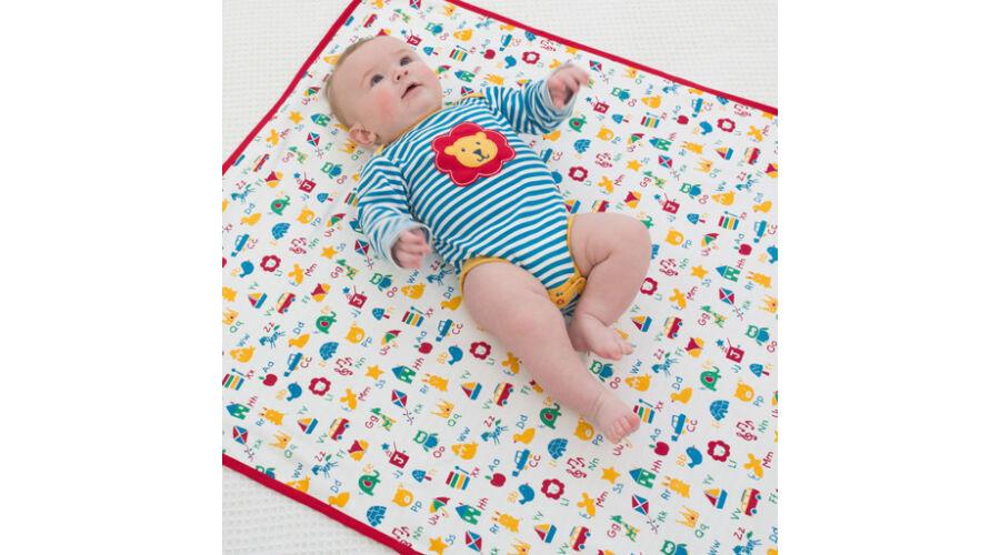 Színes vidám baba pléd törölköző - a legpuhább 528f312198