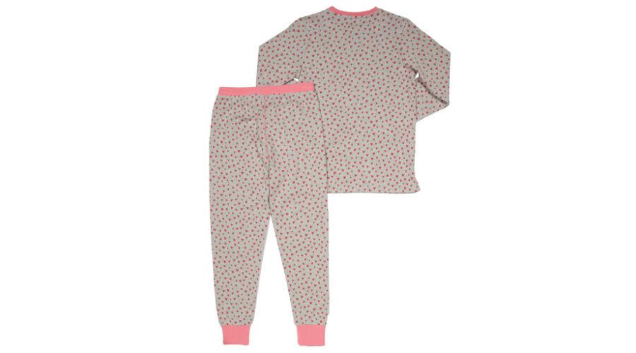 7bb77397fc Tündéri szívecskés kislány pizsama - a legpuhább biopamutból